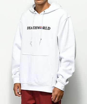 Deathworld Korea White Hoodie