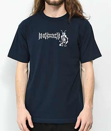 Deathworld Reflection Navy T-Shirt