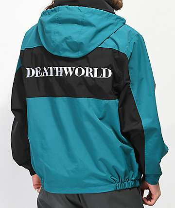 Deathworld Romulus Green & Black Windbreaker Jacket
