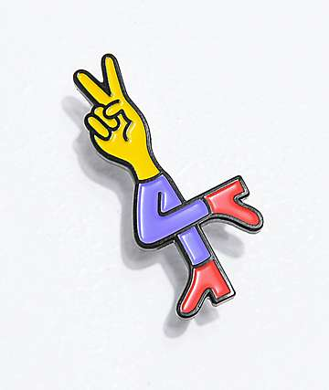 Deja Pins Peace Dude Enamel Pin