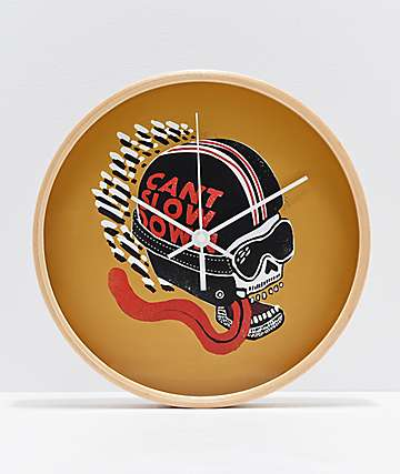 Deny Designs Can't Slow Down Wall Clock