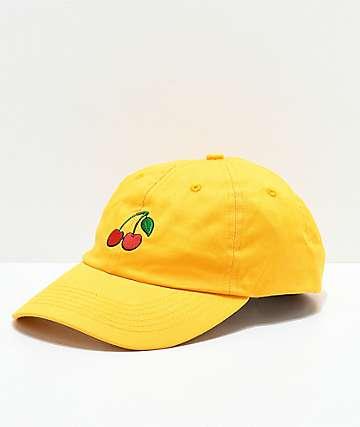 Desert Dreamer Cherry Yellow Strapback Hat