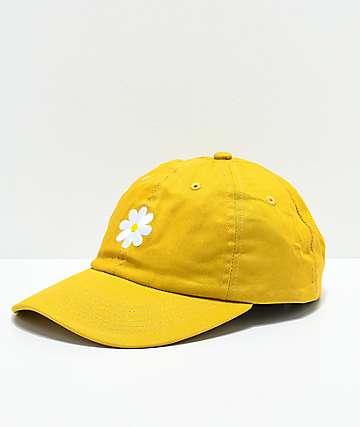 Desert Dreamer Daisy Mustard Strapback Hat