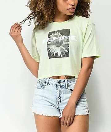 Desert Dreamer Femme camiseta corta de color menta