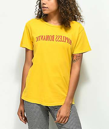 Desert Dreamer Hopeless Romantic Yellow T-Shirt