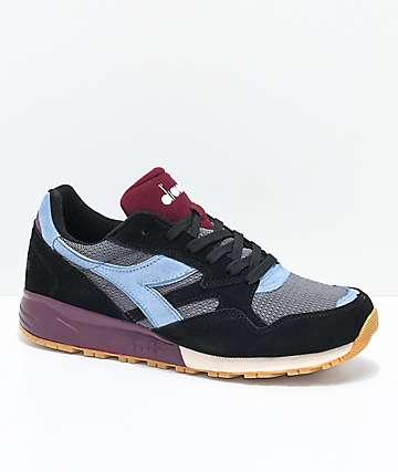 Diadora N902 Black Shoes