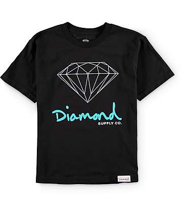 Diamond Supply Co Boys OG Sign T-Shirt