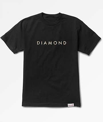 Diamond Supply Co Desert Black T-Shirt