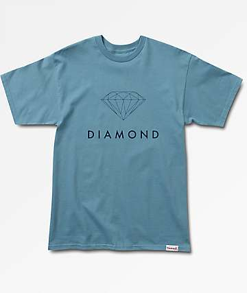 Diamond Supply Co Futura Sign Slate T-Shirt