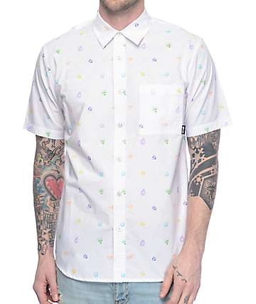 Diamond Supply Co Gems camisa blanca