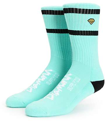Diamond Supply Co High Stripe calcetines