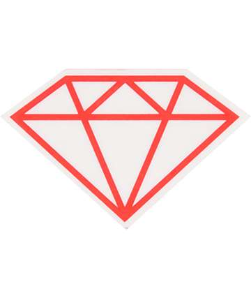 Diamond Supply Co Rock Vinyl Sticker
