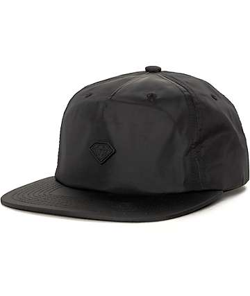Diamond Supply Co Yacht Black Strapback Hat