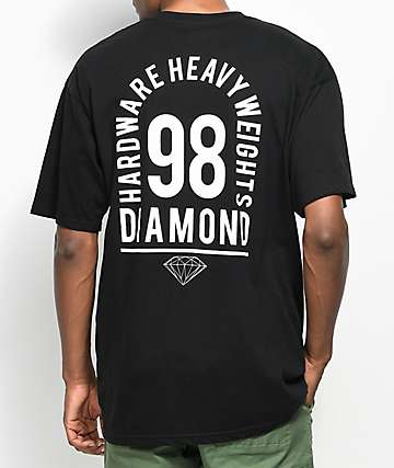 Diamond Supply Co. Access Black T-Shirt