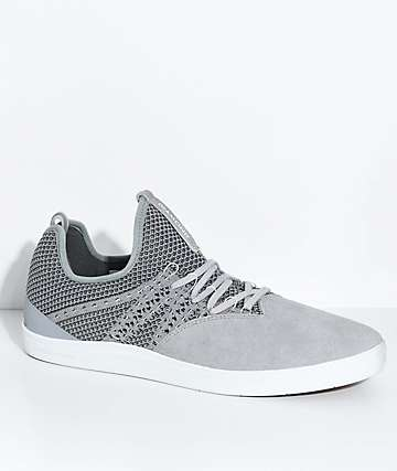 Diamond Supply Co. All Day Grey Suede Shoes