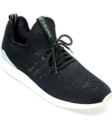 Diamond Supply Co. All Day Lite zapatos en blanco y negro
