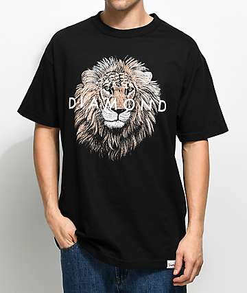 Diamond Supply Co. Apex camiseta negra