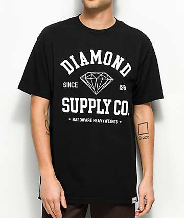 Diamond Supply Co. Athletic Black T-Shirt