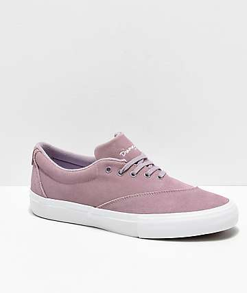 Diamond Supply Co. Avenue Lavender & White Skate Shoes