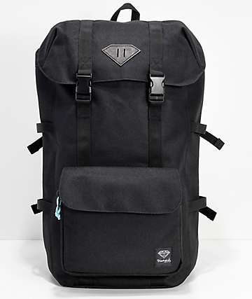 Diamond Supply Co. Barion Black Backpack