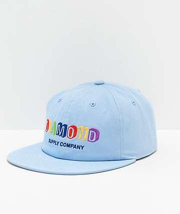 Diamond Supply Co. Building Blocks gorra azul