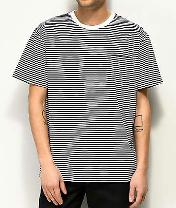 Diamond Supply Co. Cast Away Stripe Pocket T-Shirt