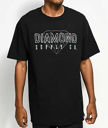 Diamond Supply Co. College Black T-Shirt