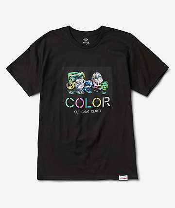 Diamond Supply Co. Color Black T-Shirt