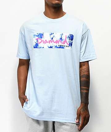 8e8dfcfe2e14 Diamond Supply Co. Color Burst Baby Blue T-Shirt