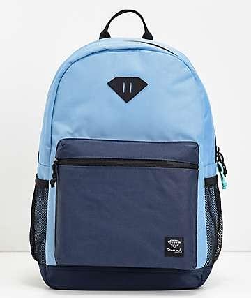 Diamond Supply Co. Cutlet mochila azul marino