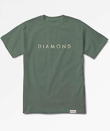 Diamond Supply Co. Desert Olive Green T-Shirt