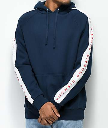 Diamond Supply Co. Fordham Navy Hoodie