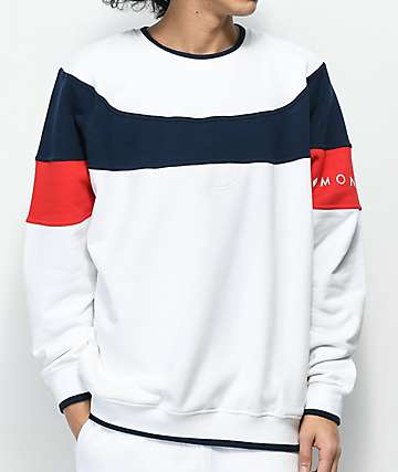 Diamond Supply Co. Fordham White Crewneck Sweatshirt