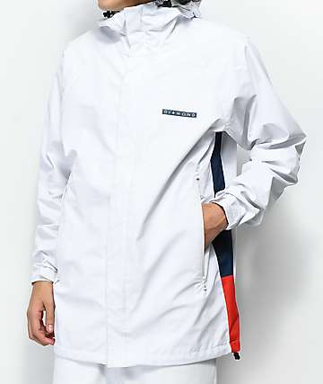 Diamond Supply Co. Fordham White Storm Jacket