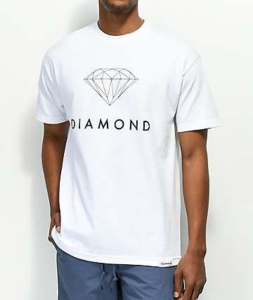 Diamond Supply Co. Futura Sign White T-Shirt