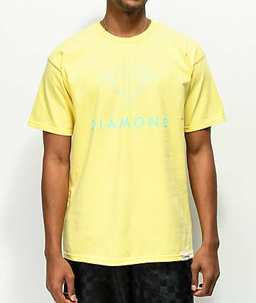Diamond Supply Co. Futura Sign Yellow T-Shirt