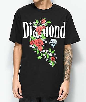 Diamond Supply Co. Garden Jewel camiseta negra