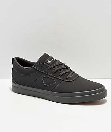 Diamond Supply Co. Icon Black Nubuck Skate Shoes