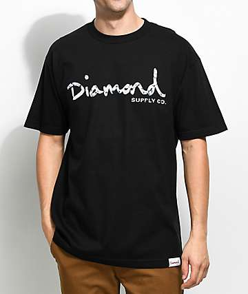 Diamond Supply Co. Infinite OG Script Black T-Shirt