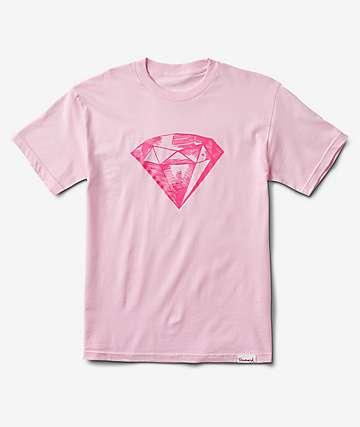 Diamond Supply Co. Inscribe Pink T-Shirt
