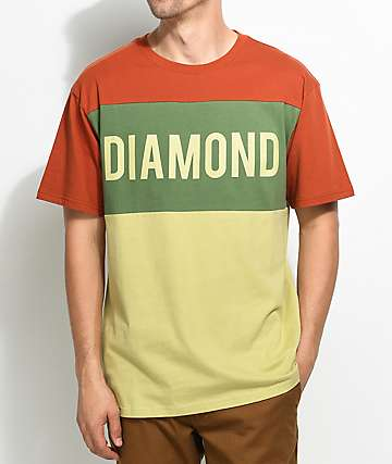 Diamond Supply Co. Jeweler Paneled T-Shirt