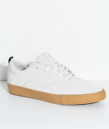 Diamond Supply Co. Lafayette zapatos de skate en colores crema y goma