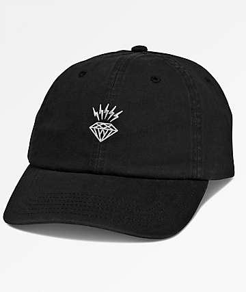 Diamond Supply Co. Lightning Black Dad Hat