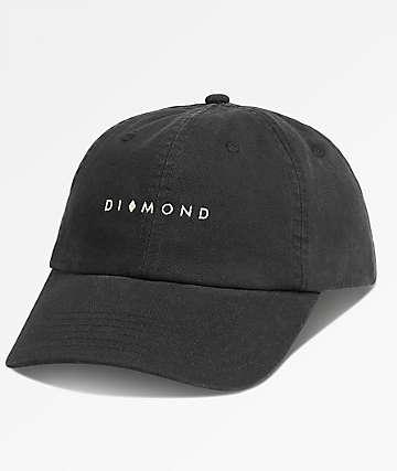 Diamond Supply Co. Marquise Black Dad Hat