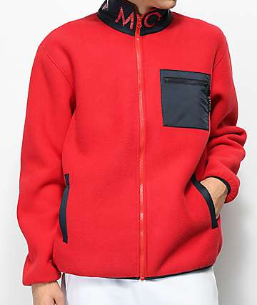 Diamond Supply Co. Marquise Polar Zip Up Tech Fleece