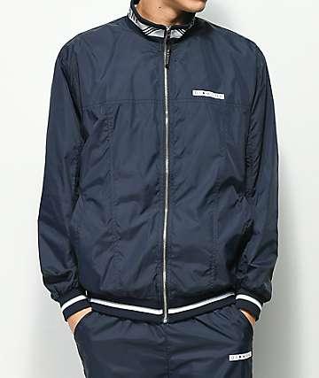 Diamond Supply Co. Marquise chaqueta de chándal en azul marino