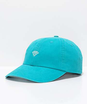 Diamond Supply Co. Micro Brilliant Blue Strapback Hat
