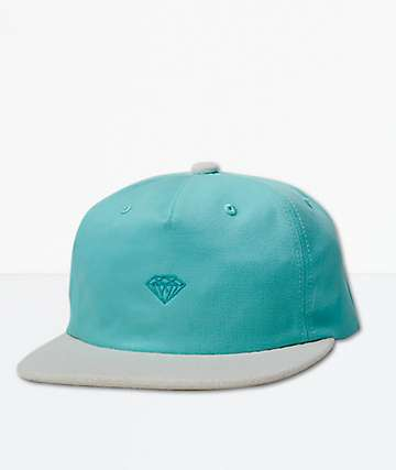 Diamond Supply Co. Micro Brilliant Two Tone Blue Strapback Hat