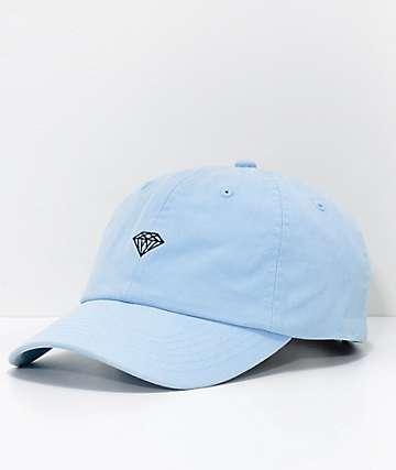 Diamond Supply Co. Micro gorra azul pastel