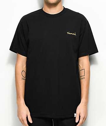 Diamond Supply Co. Mini OG Script camiseta negra